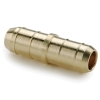 ".170""ID X .170""ID Tube Dubl-Barb® Brass Union"