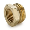 "3/4"" MGHT x  1/2"" FPT Brass Garden Hose Fitting"