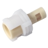 "1/16"" Hose Barb Polypropylene In-Line Coupling Body - Straight Thru (Insert Sold Separately)"