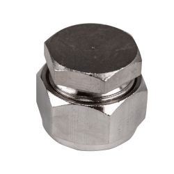 "3/4"" D1 Duratec® Nickel Plated Brass Cap"