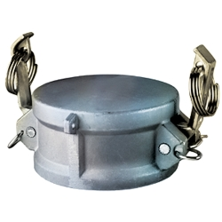 "2-1/2"" Aluminum Coupling Dust Cap"