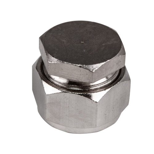 "1/2"" D1 Duratec® Nickel Plated Brass Cap"