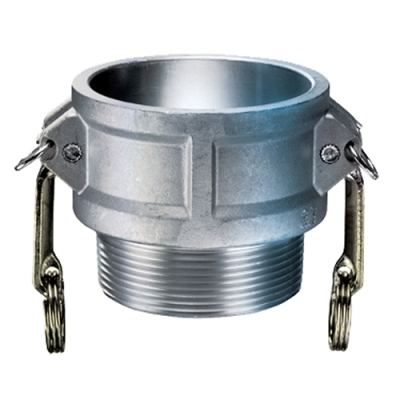 "3/4"" Female Coupler x 3/4"" MNPT Aluminum Coupling"