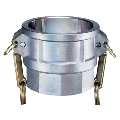 "6"" Female Coupler x 6"" FNPT Aluminum Coupling"
