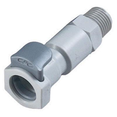 """1/4"""" MNPT EFC Series Pipe Thread Body - Shutoff (Insert Sold Separately)"""