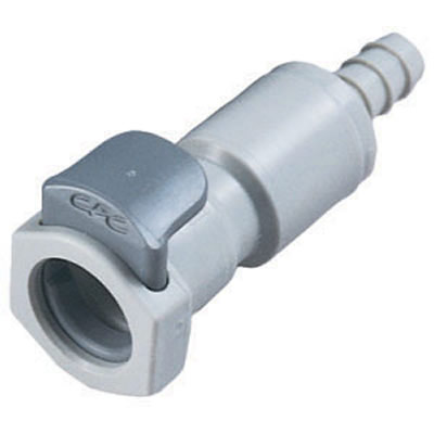 "1/4"" In-Line Hose Barb EFC Series Body - Shutoff"