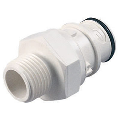 "3/4"" MGHT HFC 35 Series Polysulfone Coupling Insert - Shutoff (Body Sold Separately)"