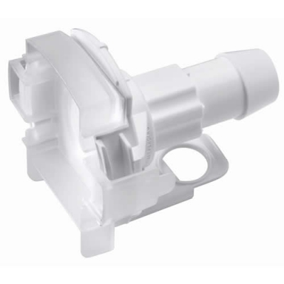 """3/4"""" Hose Barb AseptiQuik® X Large High Temperature Coupling Body (Insert Sold Separately)"""