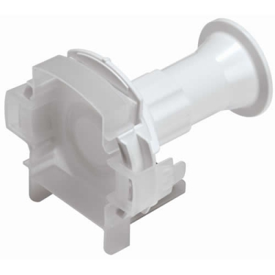 "1-1/2"" Sanitary AseptiQuik® X Large High Temperature Coupling Body (Insert Sold Separately)"