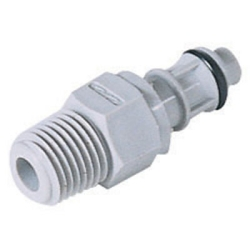"1/4"" MNPT EFC Series Pipe Thread Insert - Shutoff (Body Sold Separately)"