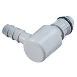 "1/4"" Hose Barb EFC Series Elbow Insert - Shutoff (Body Sold Separately)"