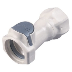 "3/4"" FGHT HFC 35 Series Polysulfone Coupling Body - Straight Thru"