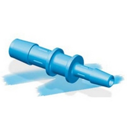 "1/8"" x 1/16"" Eldon James™ Antimicrobial HDPE Reducing Coupler"