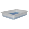 """1-3/4 Gallon Shallow Tray with Rolled Edge - 17-3/4""""L x 14""""W x 4""""H"""