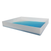"""8 Gallon Shallow Tray with Straight Edge - 29-1/4"""" L x 23-1/4"""" W x 4"""" Hgt."""