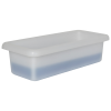 """3/4 Gallon Shallow Tray with Rolled Edge - 15"""" L x 6-1/2"""" W x 4"""" Hgt."""