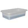 """1-1/8 Gallon Shallow Tray with Rolled Edge - 15""""L x 8-1/2""""W x 4""""H"""