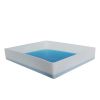 """5 Gallon Shallow Tray with Straight Edge - 23"""" L x 19"""" W x 4"""" Hgt."""