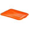 Orange Comfort Curve™ Tote/Bus Box Lid