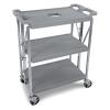Small 3 Shelf Gray Fold