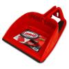 "12"" Red Libman® Heavy Duty Step-on Dust Pan"