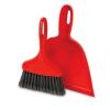 """10"""" Black/Red Libman® Dust Pan & Whisk Broom"""