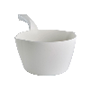 White Large 64 oz. Bowl Scoop