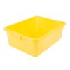 Yellow Traex® Color-Mate™ Food Storage Box
