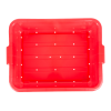 Red Traex® Color-Mate™ Perforated Drain Box