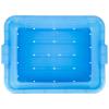 Blue Traex® Color-Mate™ Perforated Drain Box