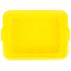 Yellow Traex® Color-Mate™ Perforated Drain Box