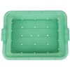 Green Traex® Color-Mate™ Perforated Drain Box