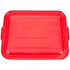 Red Standard Food Storage Box Lid