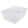 White Traex® Color-Mate™ Food Storage Box