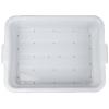 White Traex® Color-Mate™ Perforated Drain Box