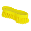 "Yellow ColorCore 6"" Stiff Hand Brush"