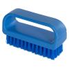 """ColorCore Blue 4"""" Medium Nail Brush"""