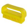 "ColorCore Yellow 4"" Medium Nail Brush"
