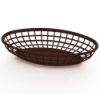 Brown Oval Food Baskets