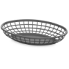 Gray Oval Food Baskets