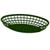 Green Oval Food Baskets