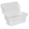18 Dram White Polypropylene Micro Child-Resistant Container