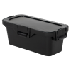 18 Dram Black Polypropylene Micro Child-Resistant Container
