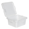 28 Dram White Polypropylene Mini Child-Resistant Container