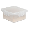 28 Dram Clear Polypropylene Mini Child-Resistant Container