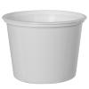 18 oz. White Polypropylene Z-Line Round Container