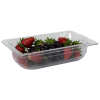 1.8 Quart Clear Polycarbonate Low Temperature 1/4 Food Pan (Cover Sold Separately)