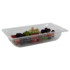 2.4 Quart Clear Polycarbonate Low Temperature 1/3 Food Pan (Cover Sold Separately)