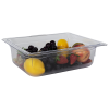 5.9 Quart Clear Polycarbonate Low Temperature 1/2 Food Pan (Cover Sold Separately)