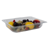 3.9 Quart Clear Polycarbonate Low Temperature 1/2 Food Pan (Cover Sold Separately)
